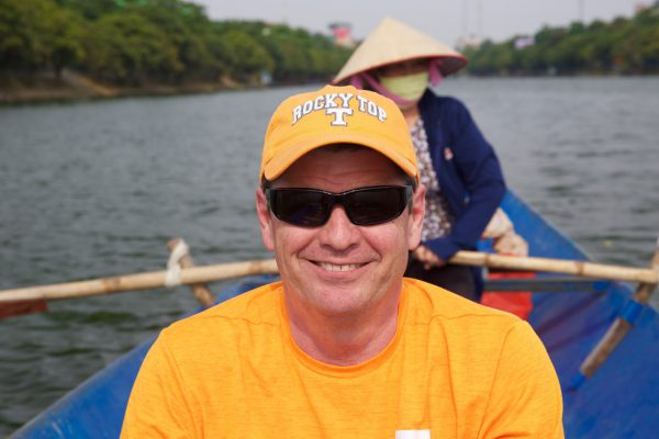 Jay Fortenberry in Hanoi